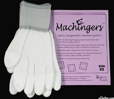 Machingers - Machine Quilting Gloves - Extra Small