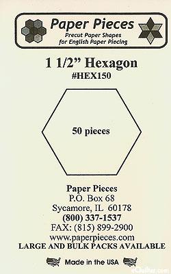 Hexagon Paper Pieces