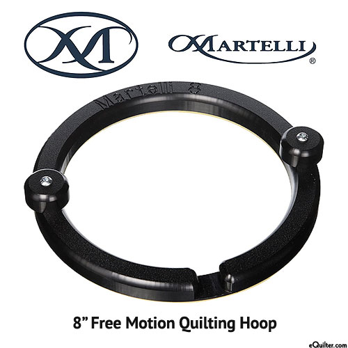 """Martelli Free Motion Quilting Hoops - 8"""""""