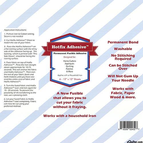 Hotfix Adhesive - Permanent Fusible Sheets