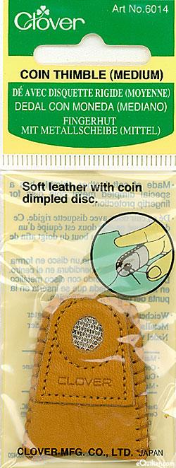 Coin Thimble - Clover
