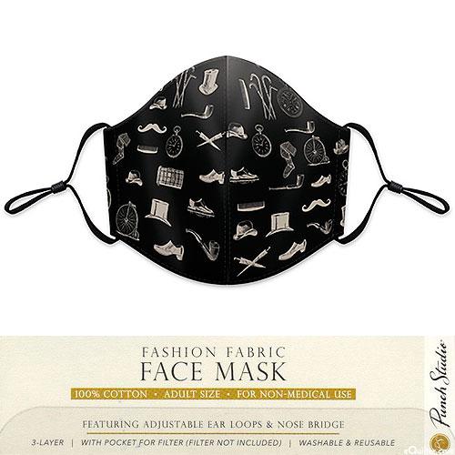 Fashion Fabric Face Mask - Dapper Dan