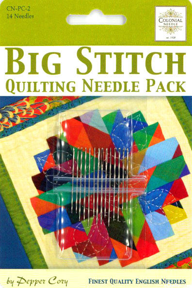 Big Stitch Quilting Needle Pack - Set of 14
