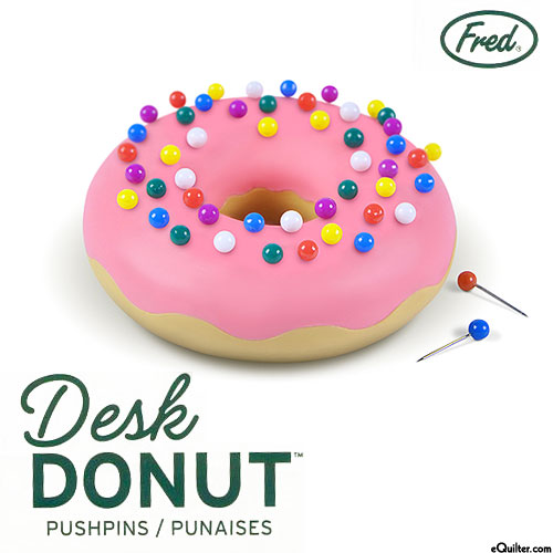 Desk Donut Pushpin Holder