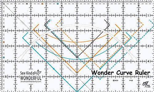Wonder Curve Ruler - by Sew Kind of Wonderful