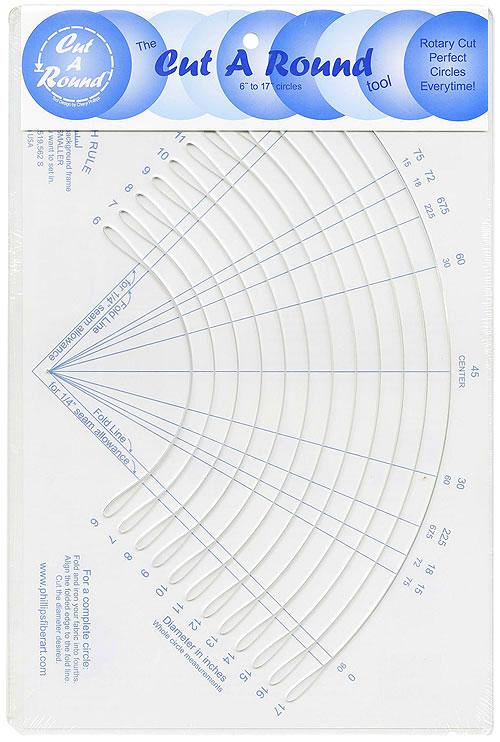 The 'Cut A Round Standard Tool' by Phillips Fiber Art