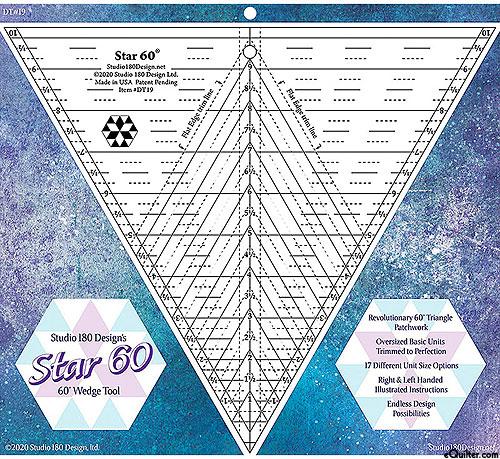 'Star 60' 60 Degree Wedge Tool by Studio 180 Designs
