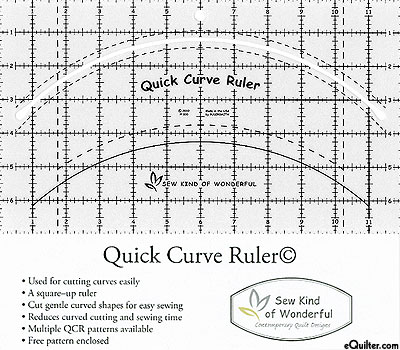 Quick Curve Ruler - by Sew Kind of Wonderful