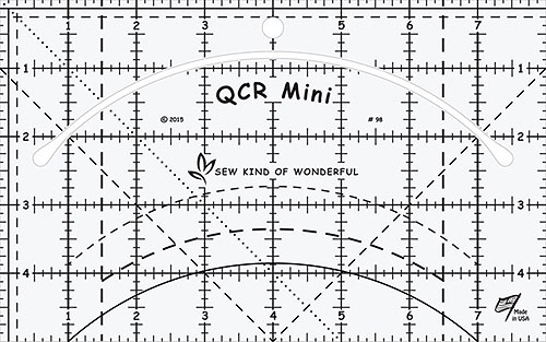 Quick Curve Ruler Mini - by Sew Kind of Wonderful