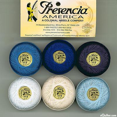 Presencia Finca Perle Cotton Size 8 Sampler - Basic Sashiko