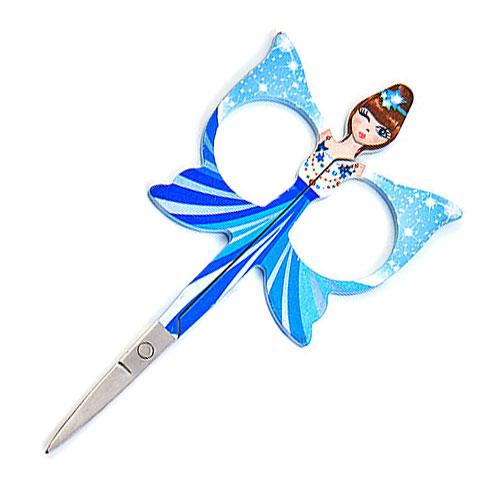 Angel Embroidery Scissors - Blue