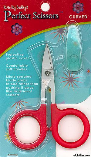 """Karen Kay Buckley's 4"""" Curved Scissors"""