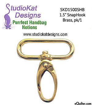 Swivel Snap Hooks - Single - Brass