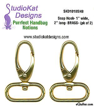 Swivel Snap Hooks - Brass