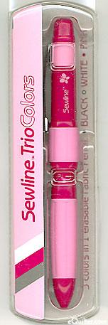Sewline Trio Colors Erasable Fabric Pencil