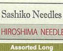 ASIAN - SASHIKO Supplies & Noren Panels