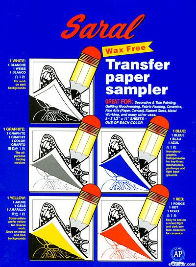 Saral Wax Free Transfer Paper - Sampler Pack