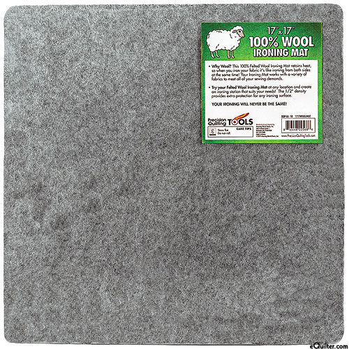 100% Wool Felted Ironing Mat
