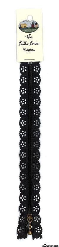 """The Big Lacie Zipper - Black - 8"""""""