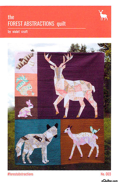 Forest Abstractions - Quilt Pattern by Violet Craft