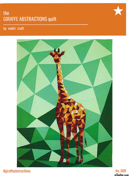 Jungle Abstractions: The Giraffe - Quilt Pattern by Violet Craft
