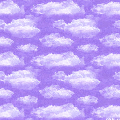 Faith - Stratospheric Cumulus Clouds- Lavender