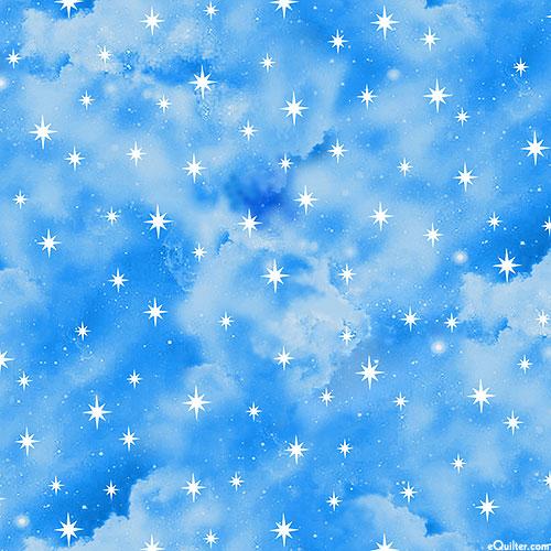 In the Beginning - Star Studded Heavens - Sky Blue