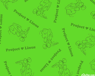 Project Linus - I Heart My Blanket - Bamboo