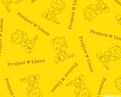 Project Linus - I Heart My Blanket - Very Yellow