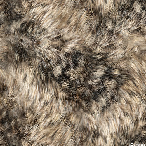 Majestic Wolves - Winter Coat - Taupe - DIGITAL