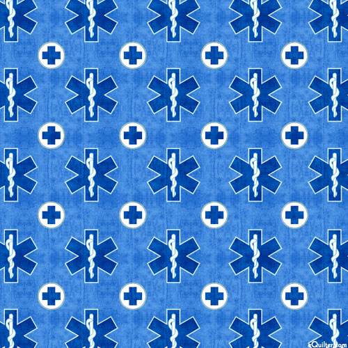 What the Dr Ordered - Star of Life - Lake Blue