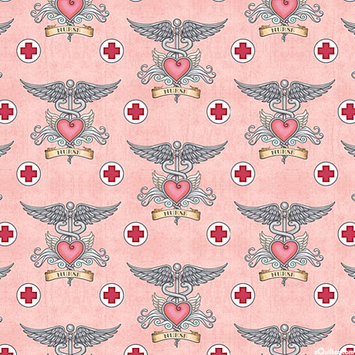 What the Dr Ordered - Love for Nurses - Retro Pink