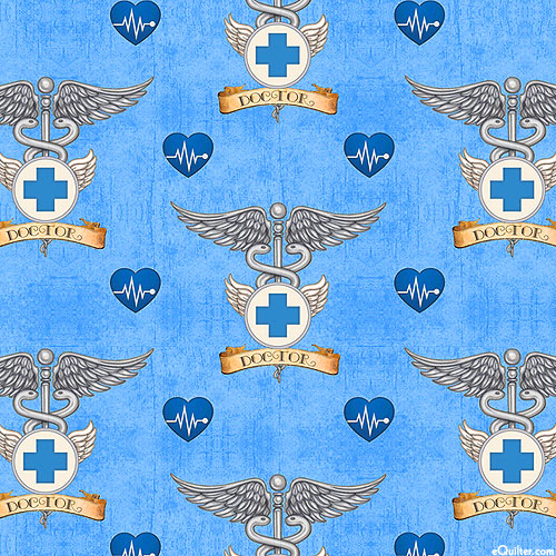 What the Dr Ordered - Healing Doctors - Sky Blue