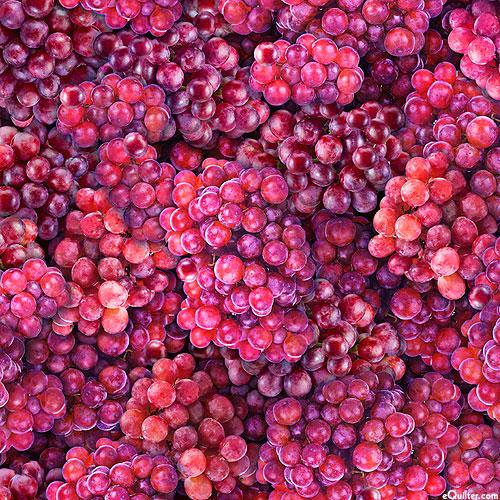 Fresh - Grape Vine - Berry Wine - DIGITAL PRINT