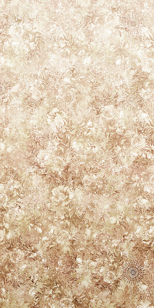 Floralessence - Blooming Ombre - Taupe - DIGITAL PRINT