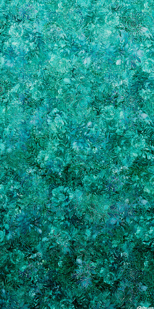 Floralessence - Blooming Ombre - Jade - DIGITAL PRINT
