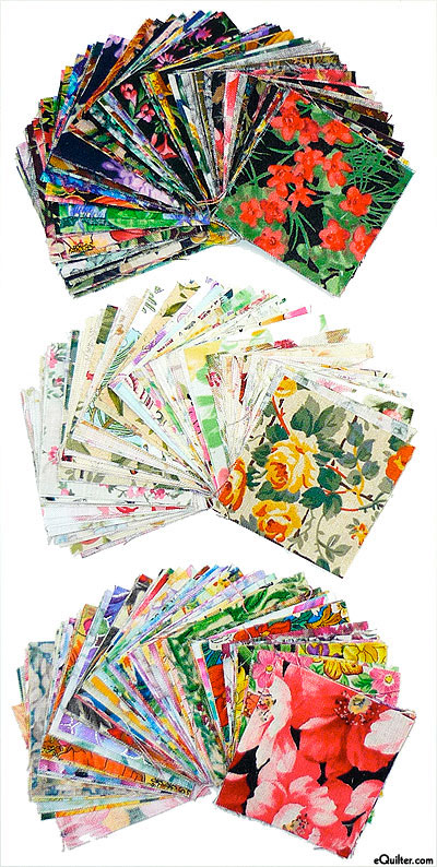 Watercolor Precut Squares - 2 inch squares packet