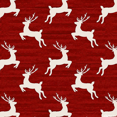 Home For The Holidays - Reindeer Toss - Barn Red