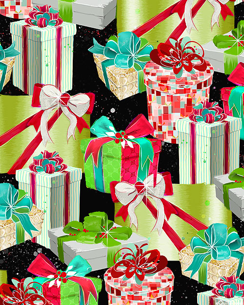 Sassy Holiday - Gorgeous Gifts - Black - DIGITAL