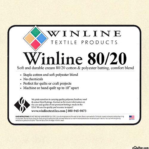 "Winline - Low-Loft Batting - Cotton/Poly - 96"" SPECIAL PURCHASE"