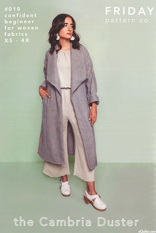 The Cambria Duster - Garment Pattern by Friday Pattern Co.