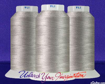 YLI Machine Quilting Thread - 40 wt - 3000 yd - Soft Grey