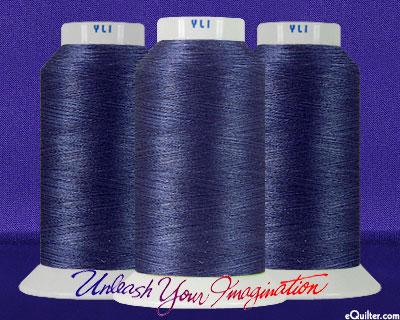 YLI Machine Quilting Thread - 40 wt - 3000 yd - Dark Blue