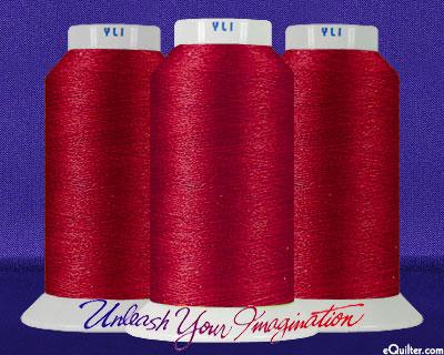 YLI Machine Quilting Thread - 40 wt - 3000 yd - Red
