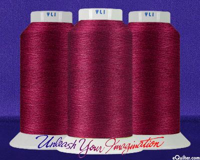 YLI Machine Quilting Thread - 40 wt - 3000 yd - Cabernet