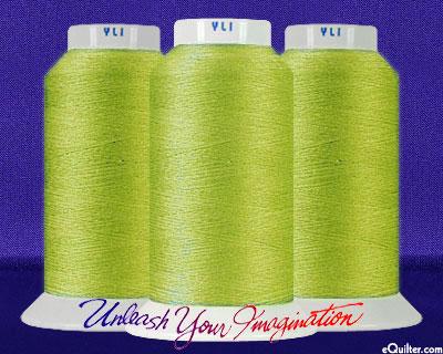 YLI Machine Quilting Thread - 40 wt - 3000 yd - Celery