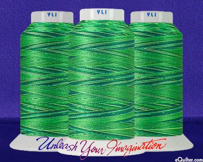 YLI Machine Quilting Thread - 40 wt - 3000 yd - Rain Forest
