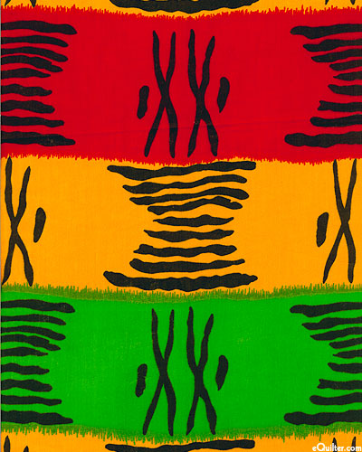 African Import - Roller Stripes - Multi