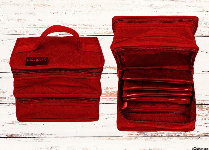 Yazzii Petite Double Organizer - Red