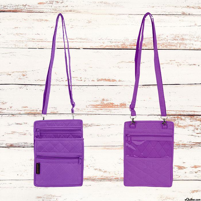 Yazzii Accessory & ID Pouch - Purple